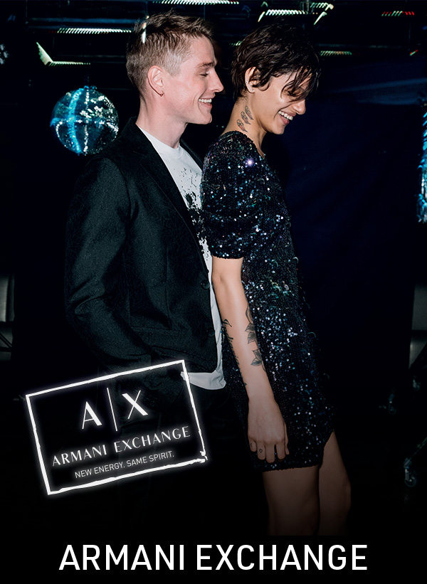 ARMANI EXCHANGE is pleased to invite you to our event PARTY TIME